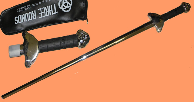 Black Telescopic Tai Chi Sword - DM